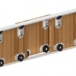 ΣΕΤ VIALEX 1 Μηχανισμός συρόμενης ντουλάπας για 3 συρόμενες πόρτες με τον οδηγό.