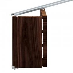 APOLLO SET: Σπαστός μηχανισμός για 2 πόρτες έως 28 κιλά με οδηγό 908 mm