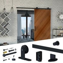 LUNA SET: Μηχανισμός βαρέως τύπου για συρόμενες ξύλινες πόρτες αχυρώνα έως 100 kg.